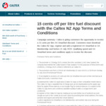 15¢ off per litre with AA Smartfuel and Caltex App (New Users)