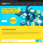 50% off Sitewide @ Openhost.co.nz