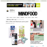 Win a Mita and Manicare Prize Pack (Worth $270.84) from Mindfood