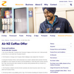 Free Barista-Made Coffee Via App (7 Days) @Z Energy through Airpoints
