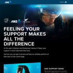Free ANZ Support Band for ANZ Customers