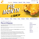 All Pies $4 Every Friday, from 10AM to 2PM @ Z Espress
