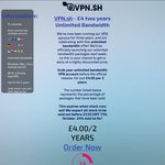 VPN.sh - £4 Two Years Unlimited Bandwidth