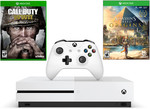 Xbox One S 500GB Bundle (Call of Duty WWII + Assassins Creed Origins) $350 Delivered @ PB Tech
