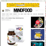 Win 1 of 6 Added Mojo Multivitamins from Mindfood