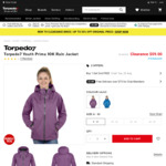 2 x Youth Prima 10K Rain Jacket $59 (Was $125 Each) @ Torpedo7
