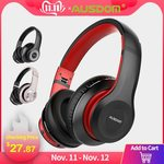 Ausdom ANC10 Active Noise Cancelling Bluetooth Wireless Headphones US $27.87 (NZ ~ $43.90) Delivered @ AUSDOM AliExpress