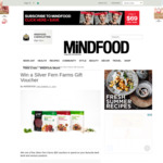 Win 1 of 5 $50 Silver Fern Farms Vouchers from Mindfood