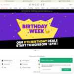 $1 for $11 Credit @ Onceit