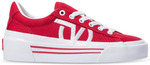 Vans Sid Ni Canvas Racing Red True White Shoes (Men's US 6, 7, 8, 9) $27.99 Delivered (Was $149.99) at Hyperride