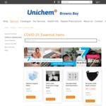 Reusable Masks $5.99, Instant Hand Sanitiser 100ml $3.49 + Delivery / Click & Collect @ Unichem, Browns Bay