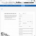 Free Artline Pen - Join The Artline VIP Club