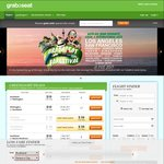 Grabaseat Farestival: AKL - WLG/NPE/NPL, WLG - TIU, CHC - ZQN $38 Return + More