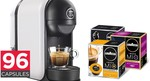 Lavazza Minù Coffee Capsule Machine + 96 Lavazza Capsules for $88.00 + Free Delivery @ Dick Smith