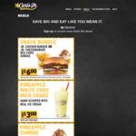 Carls Jr Snack Bundle $6 + Other Coupons