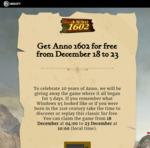 Anno 1602 Free @ Ubi Store