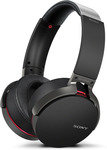 50% off Sony XB950B1 EXTRA BASS Wireless Headphones $175 + Delivery @ Sony