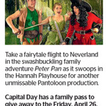 Win a Family Pass to Peter Pan from The Dominion Post (Wellington)