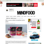 Win 1 of 5 Pure Delish Prize Packs (Worth $50) from Mindfood
