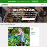 Free Food Samples and Tasters When You Register at Bunch (via Countdown Supermarkets)