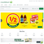 $20 off Your First Order over $100 @ Countdown
