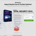 Bitdefender Total Security 2016 6 Months Free