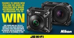 Win a Nikon KeyMission 360 or Nikon KeyMission 170 from JB Hi-Fi