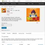 FREE Anime: Dragon Ball Z HD (39 Episodes) & Fairy Tail HD (12 Episodes) @ Microsoft