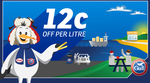 12c/Litre off @ Gull (7am 23/3 - 12pm 24/3 2017)