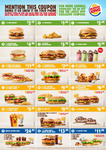 Burger King February Coupons: Cheeseburger $2, 2 Bacon Cheeseburgers $5.50, Tendercrisp + Reg Fries $7 + More