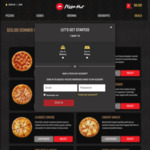 XL Supreme Pizza Range, Onion Rings, Double Choc Brownie, Garlic Bread, and 420ML Drink $15 @ Pizza Hut