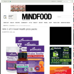 Win 1 of 3 Good Health Prize Packs from Mindfood