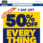 50% off Everything  + Free Shipping >$40 @ Tandt.co.nz