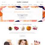 50% off Sitewide (Free Shipping Min Order $70, Excludes Sale and Limited Edition Kits) @ Nude by Nature