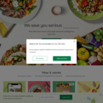 $50 off 1st Box, $30 off 2nd Box, $10 off 3rd & 4th Box for New Customers @ Hello Fresh