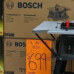 Bosch Professional Table Saw and Stand $699 (Was $954) in Store Only @ Bunnings Petone
