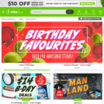 $5 off - No Min Spend @ 1-Day