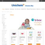 B.box Cup, Bottle, Cutlery, Lunch Box, Save Up to 40% Off from $8.99 @ Unichem Browns Bay