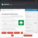Free Online CPR & First Aid Courses