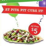 All Pitas $5 (Save up to $6.50) @ Pita Pit [Cuba Street, Palmerston North] [Today Only]