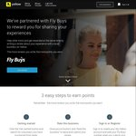 4 Fly Buys for Every Buisness Review You Post @ Yellow
