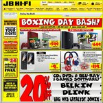 JB Hi-Fi Boxing Day Sale 2016 - PS4 Slim $369, Xbox One Slim Bundle $349, LG 49UH652V UHD TV $946 + More