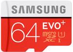 Samsung EVO Plus microSD 64GB $19.95 @ Computer Lounge