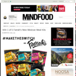 Win 1 of 5 Farrah's New Mexican Meal Kits from Mindfood