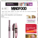 Win 1 of 5 Maybelline Lash Sensational Packs from Mindfood