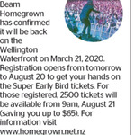 Win a Double Pass to Jim Beam Homegrown from The Dominion Post (Wellington)