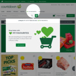 $10 off (Min Spend $100) @ Countdown (Online)