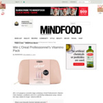 Win 1 of 4 L'Oréal Cosmetic Gift Bags (Worth $64.50) from Mindfood
