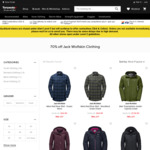 70% off Jack Wolfskin Clothing (Men Yukon Parka $95.19, Was $649.99), + up to 70% off Clearance @ Torpedo 7