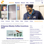 Free Coffee Upsize (10th ~ 16th), Free Flavour Shots (17 ~ 23rd), Free Alternative Coffee Milk (24th ~ 31st) @ Z Energy